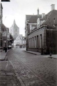 Bisschopstraat waagstraat 1900