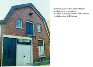 Boterstraat werkplaats Muller