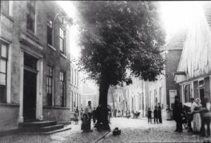 De knik in de Deurningerstraat.