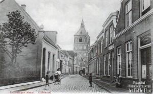 Deurningestraat met Apotheek