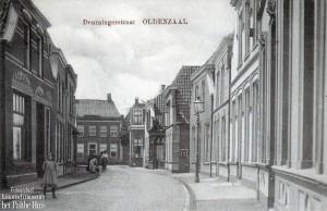 Deurningestraat vanaf Dingeldein