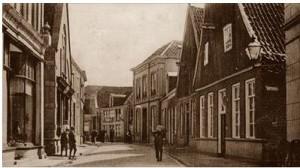 Grotestraat links van Mook Oldenzaal