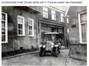 Hoek markt Grotestraat 1900