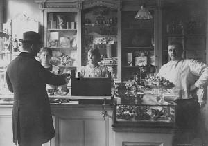 In de bakkerij van van olfen 1936