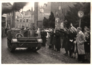 Oldenzaal - Bevrijding 1945. Grootestraat