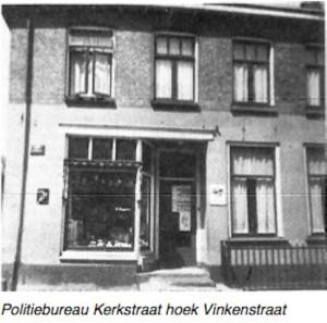 Politie bureau kerkstraat voor de oorlog