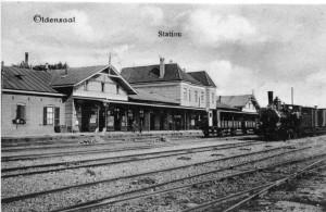 Station Oldenzaal voor de Oorlog
