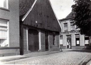 deurningestraat hoek Langestraat 1922