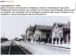 station Oldenzaal 1885