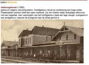 station Oldenzaal 1900