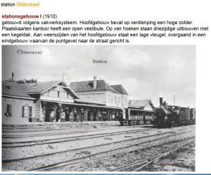 station Oldenzaal 1915