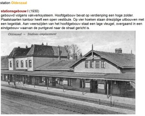station Oldenzaal 1930