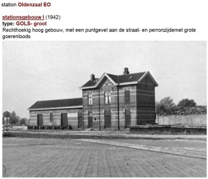 station Oldenzaal 1940