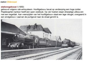 station Oldenzaal 1950