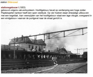 station Oldenzaal 1953