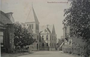 Duitse klooster Molenstraat kopy  vanaf Denekamperstraat 1915