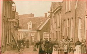Poortstraat in 1902.