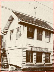 Spoorweg huisje Mazeland